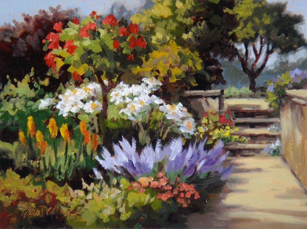 """Full Bloom"" original fine art by Erin Dertner"