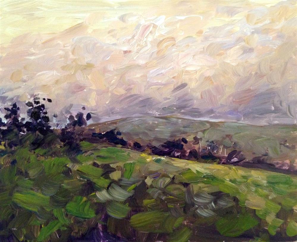 """Tulsa Botanical Road"" original fine art by Devin Howell"
