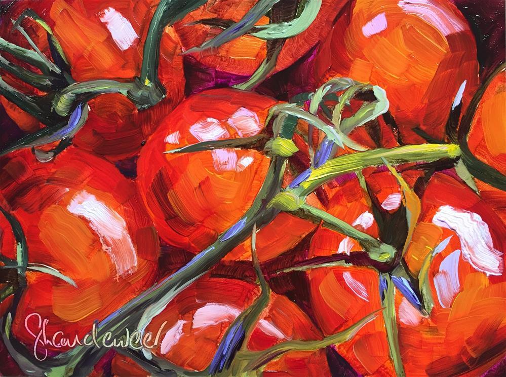 """""""Tomatoes"""" original fine art by Carol Baehren Landeweer"""