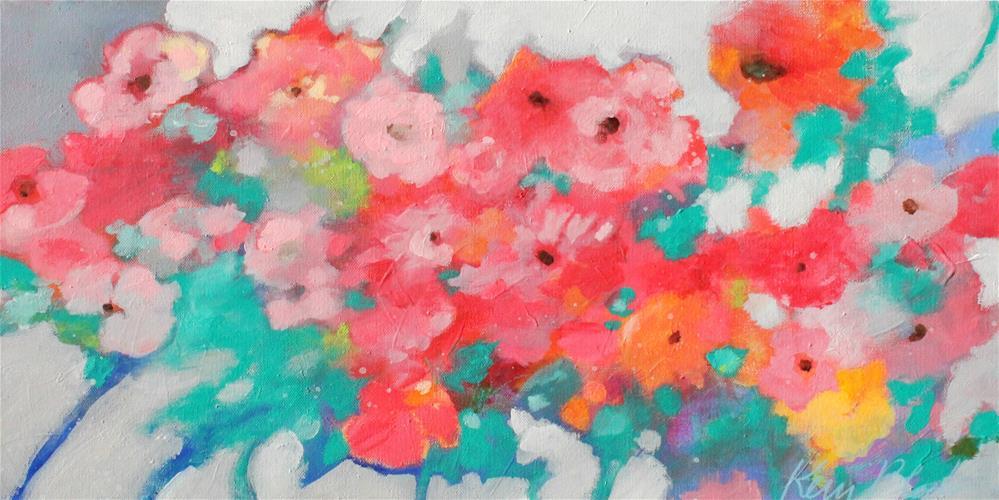 """All Together Now "" original fine art by Kerri Blackman"