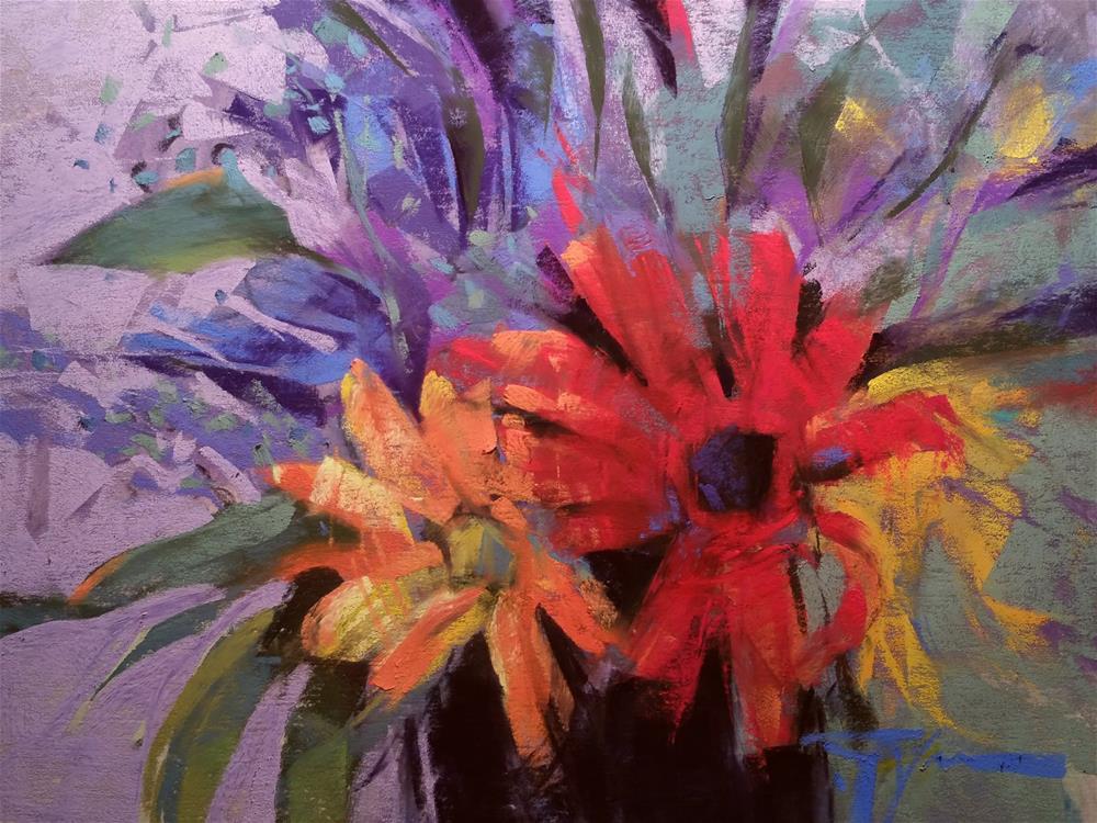 """Black Vase"" original fine art by Jennifer Evenhus"