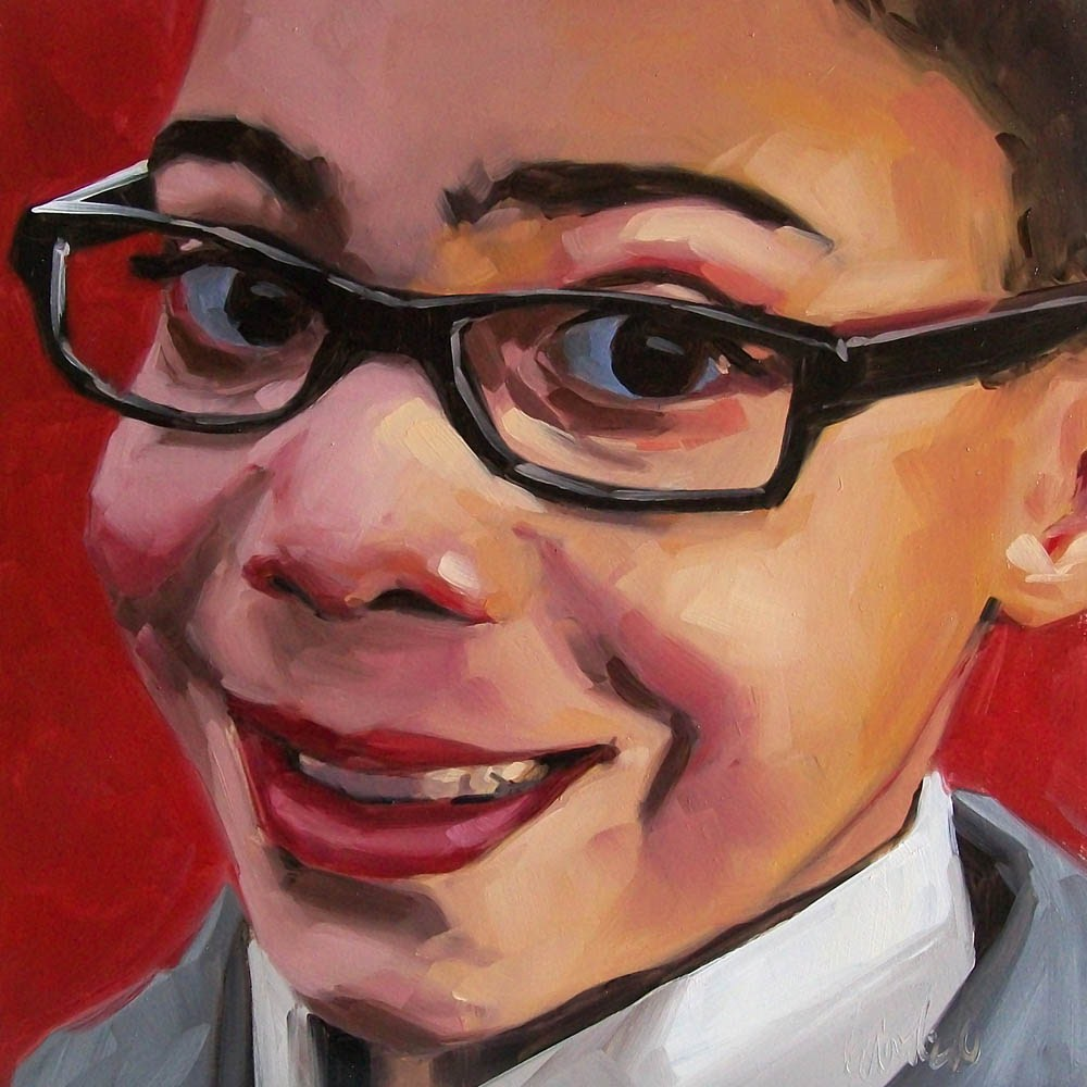 """Aiden1"" original fine art by Brandi Bowman"