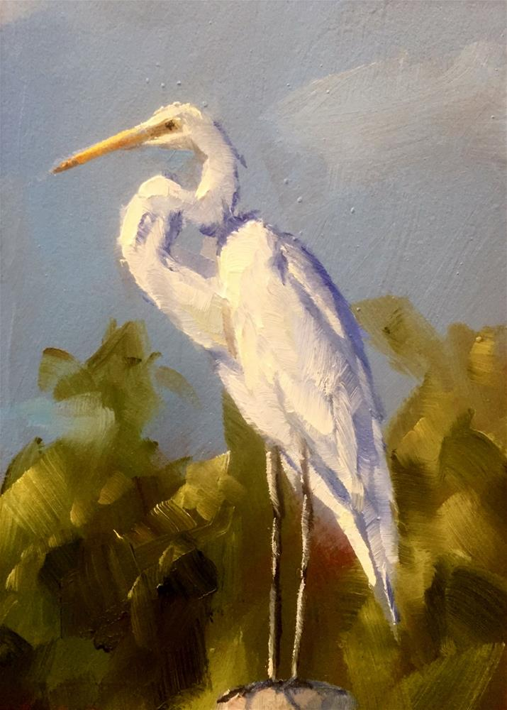 """Standing Tall"" original fine art by Gary Bruton"