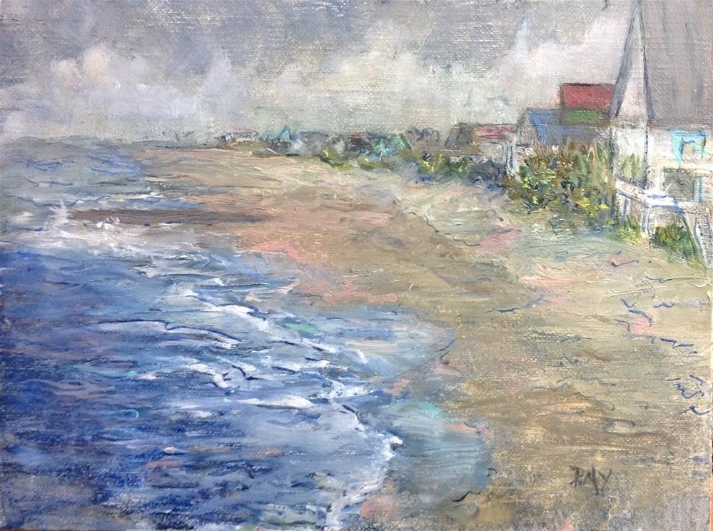 """Pavilion View- Edisto Island South Carolina"" original fine art by barbara yongue"