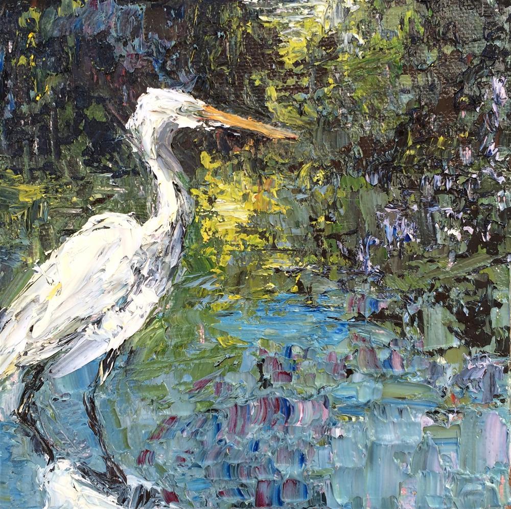 """Reflecting"" original fine art by Denise Hopkins"