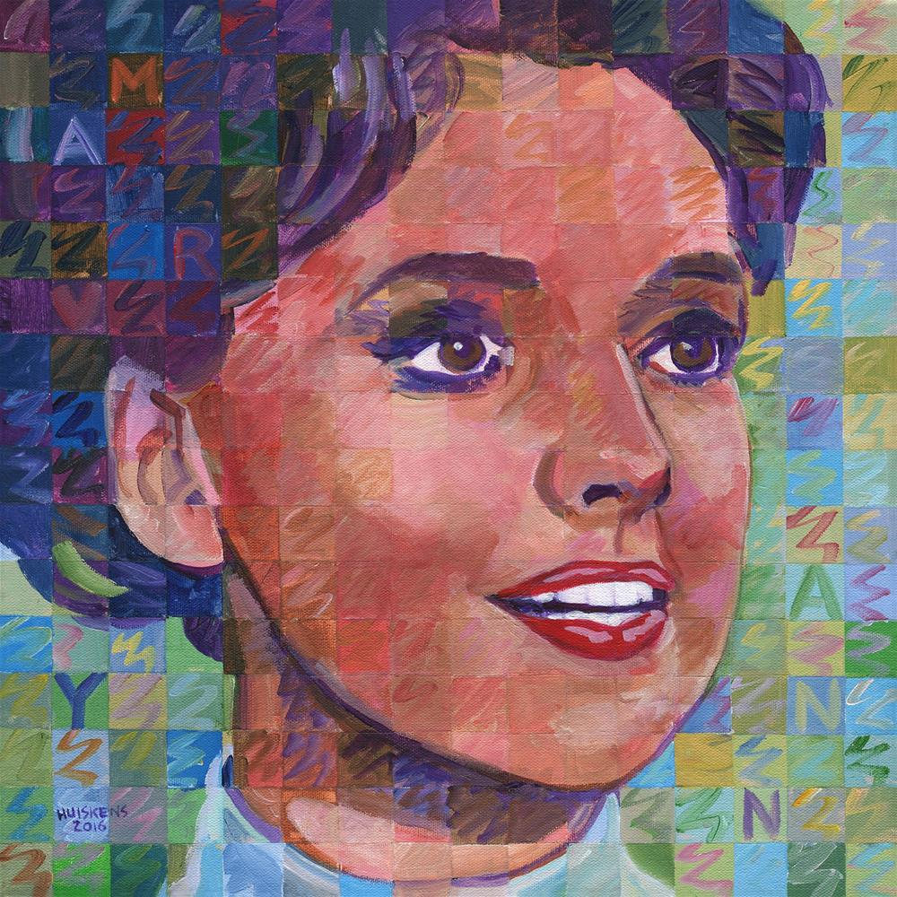 """Mary Ann (Gilligan's Island)"" original fine art by Randal Huiskens"