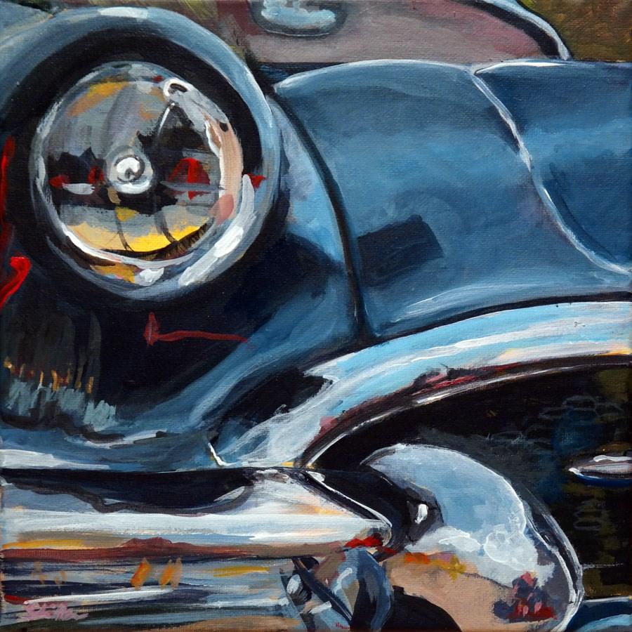 """""""1218 Buick-Buick-Buick..."""" original fine art by Dietmar Stiller"""