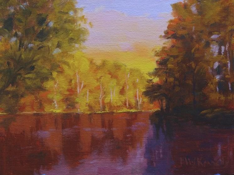 """Reflections #3"" original fine art by Michael Kennedy"