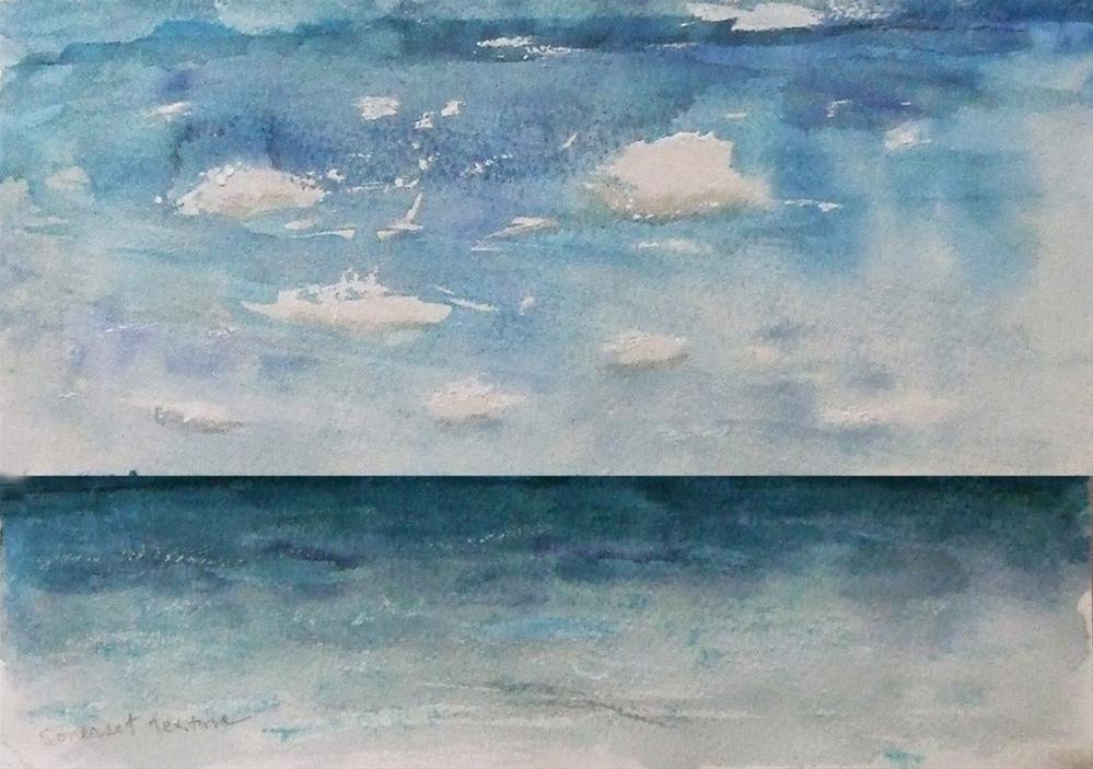 """feel like a distant memory"" original fine art by Mitsuru Cope"