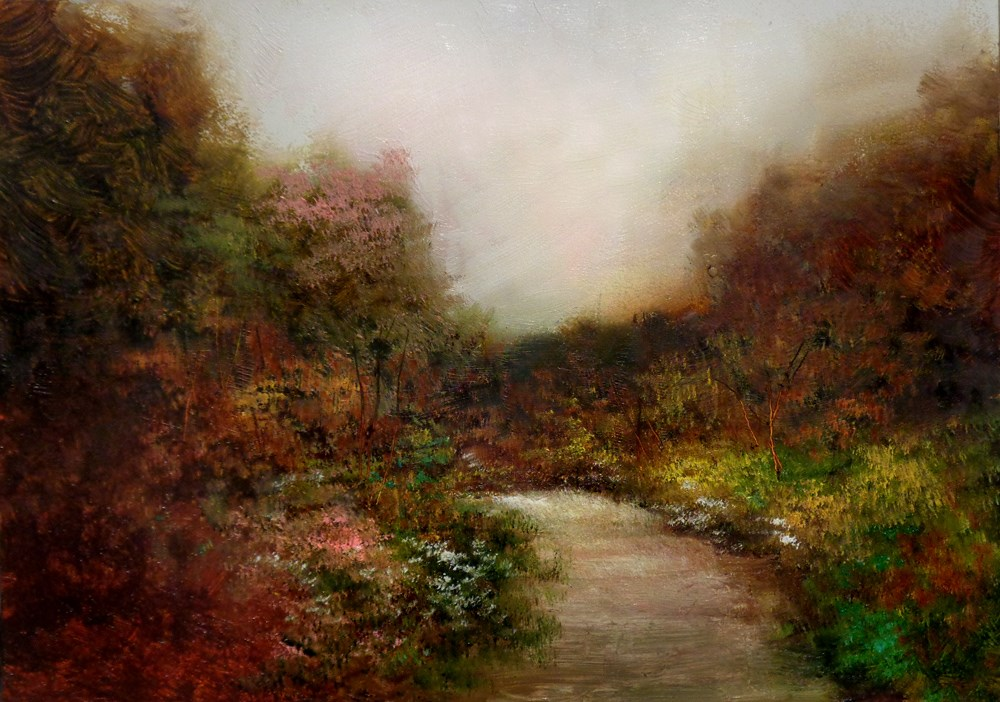 """A Path of Peace"" original fine art by Bob Kimball"