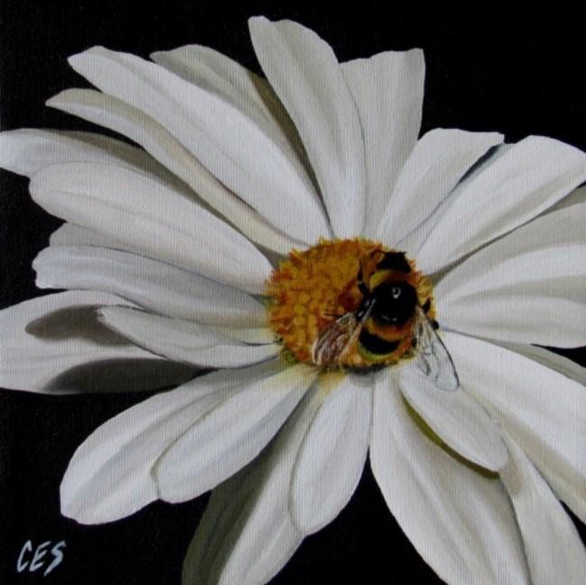 """""""Once Upon a Daisy"""" original fine art by ~ces~ Christine E. S. Code"""