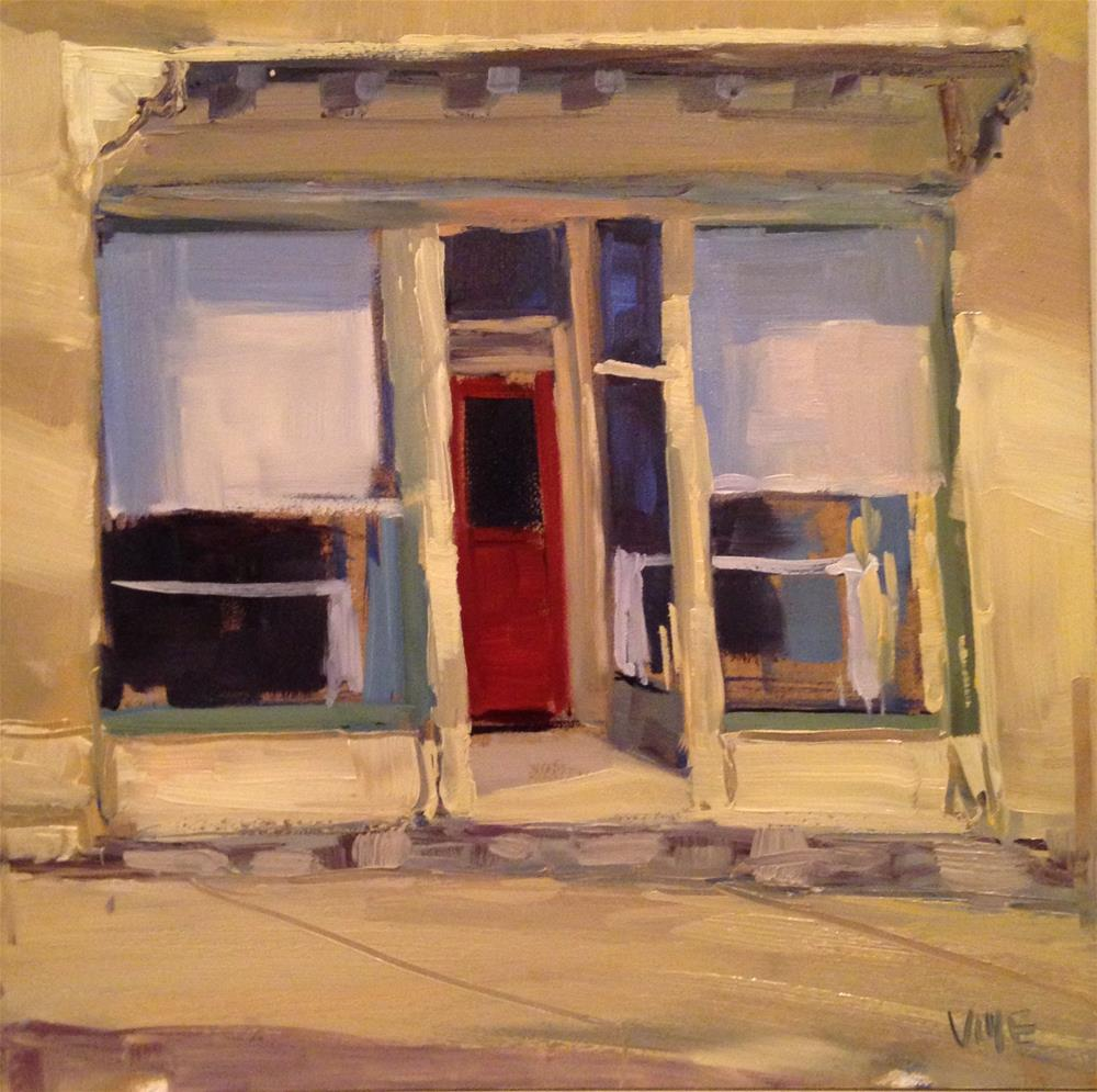 """#130 Main Street Mineral Point"" original fine art by Patty Voje"