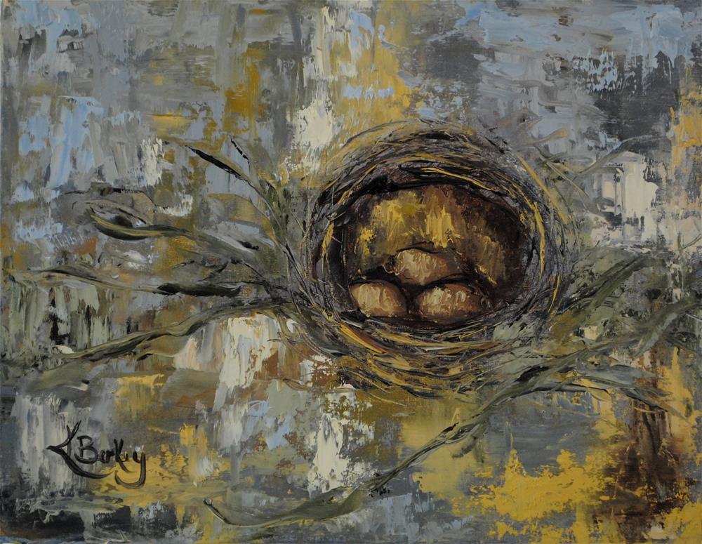 """Nesting"" original fine art by Kelly Berkey"