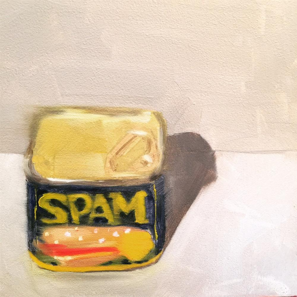 """261 Spam"" original fine art by Jenny Doh"