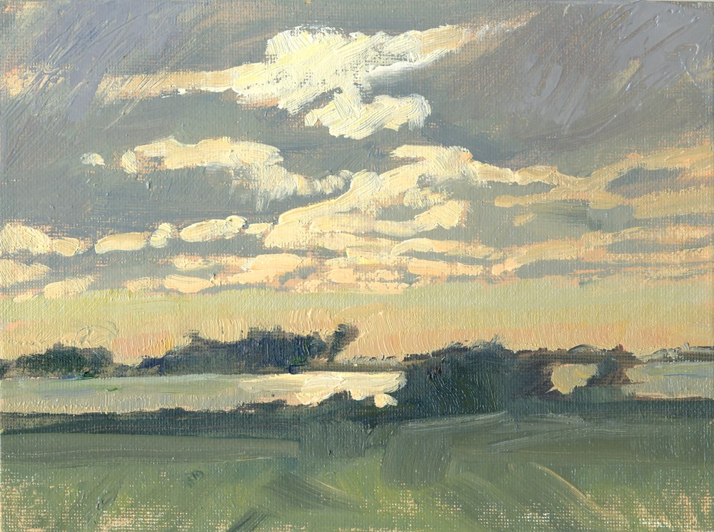 """Overcast"" original fine art by Kath Reilly"