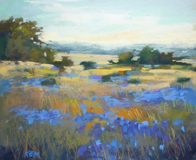 """A Tip for Creating Depth in a Landscape Painting"" original fine art by Karen Margulis"