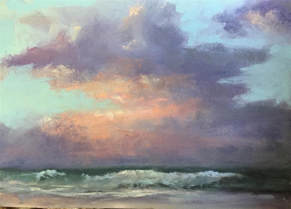 """""""Sunrise in Carolina"""" original fine art by Jan Hutchinson"""