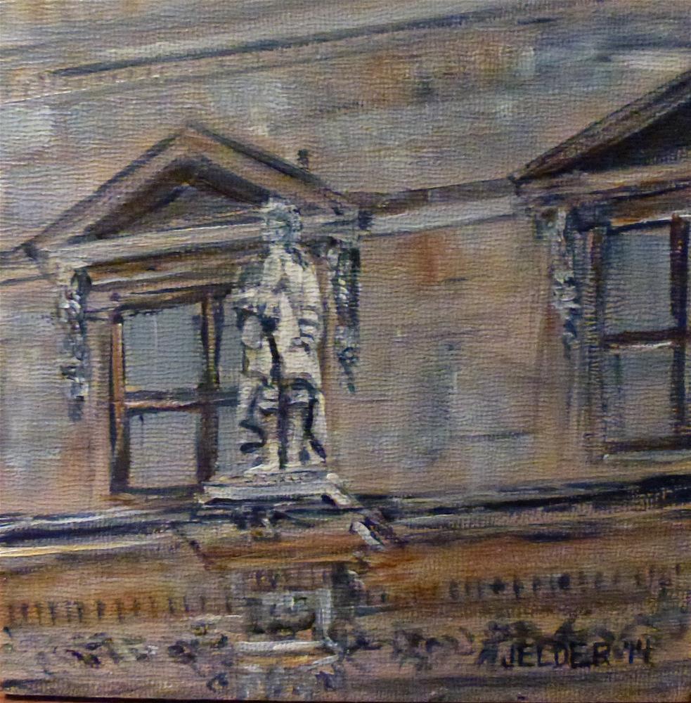 """Paris No. 57"" original fine art by Judith Elder"