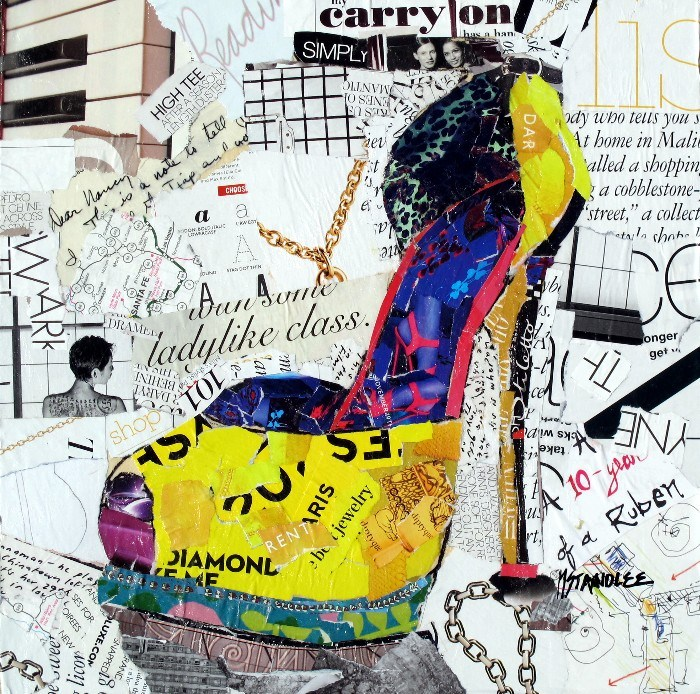 """Ladylike Class, 12077 SOLD"" original fine art by Nancy Standlee"