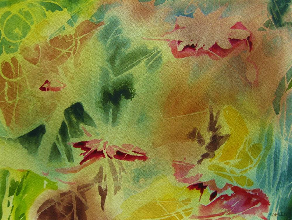 """""""Ephemeral"""" original fine art by Priscilla Bohlen"""