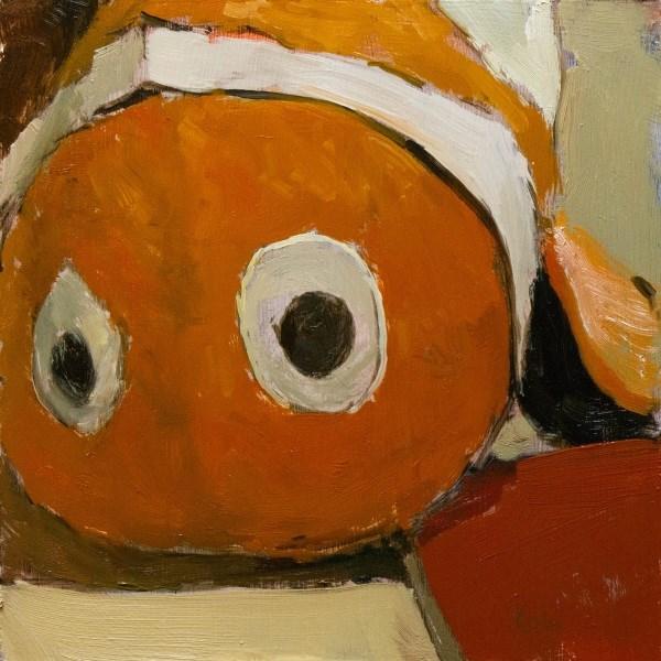 """Clowning Around"" original fine art by Randall Cogburn"