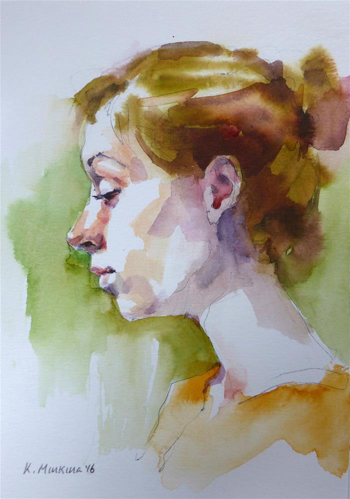 """sketchbook#38"" original fine art by Katya Minkina"