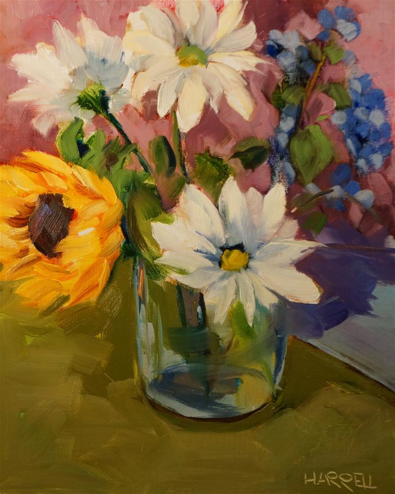 """Good Omens"" original fine art by Sue Harrell"