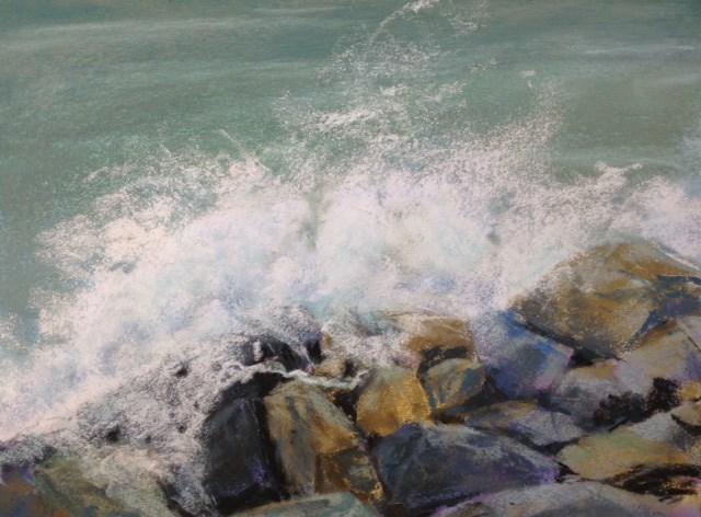 """""""Splash II"""" original fine art by Judith McKenna"""