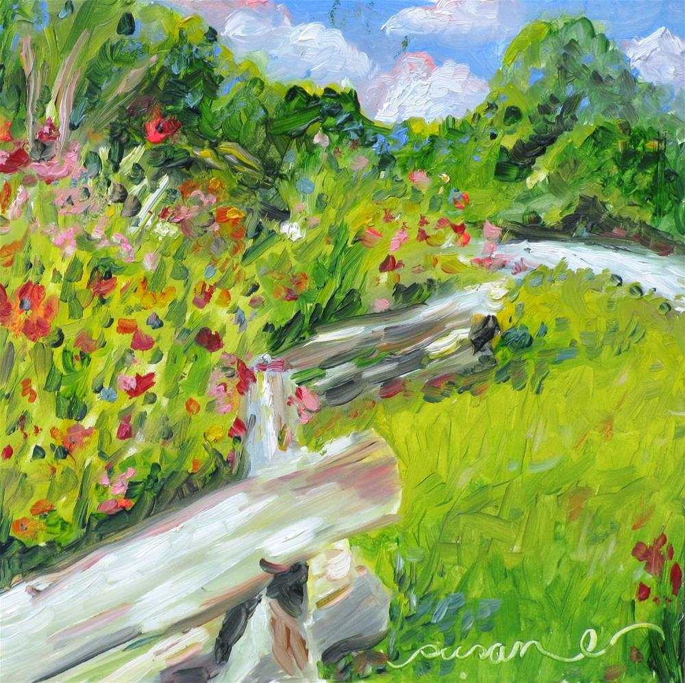 """Down the Natchez Trace"" original fine art by Susan Elizabeth Jones"