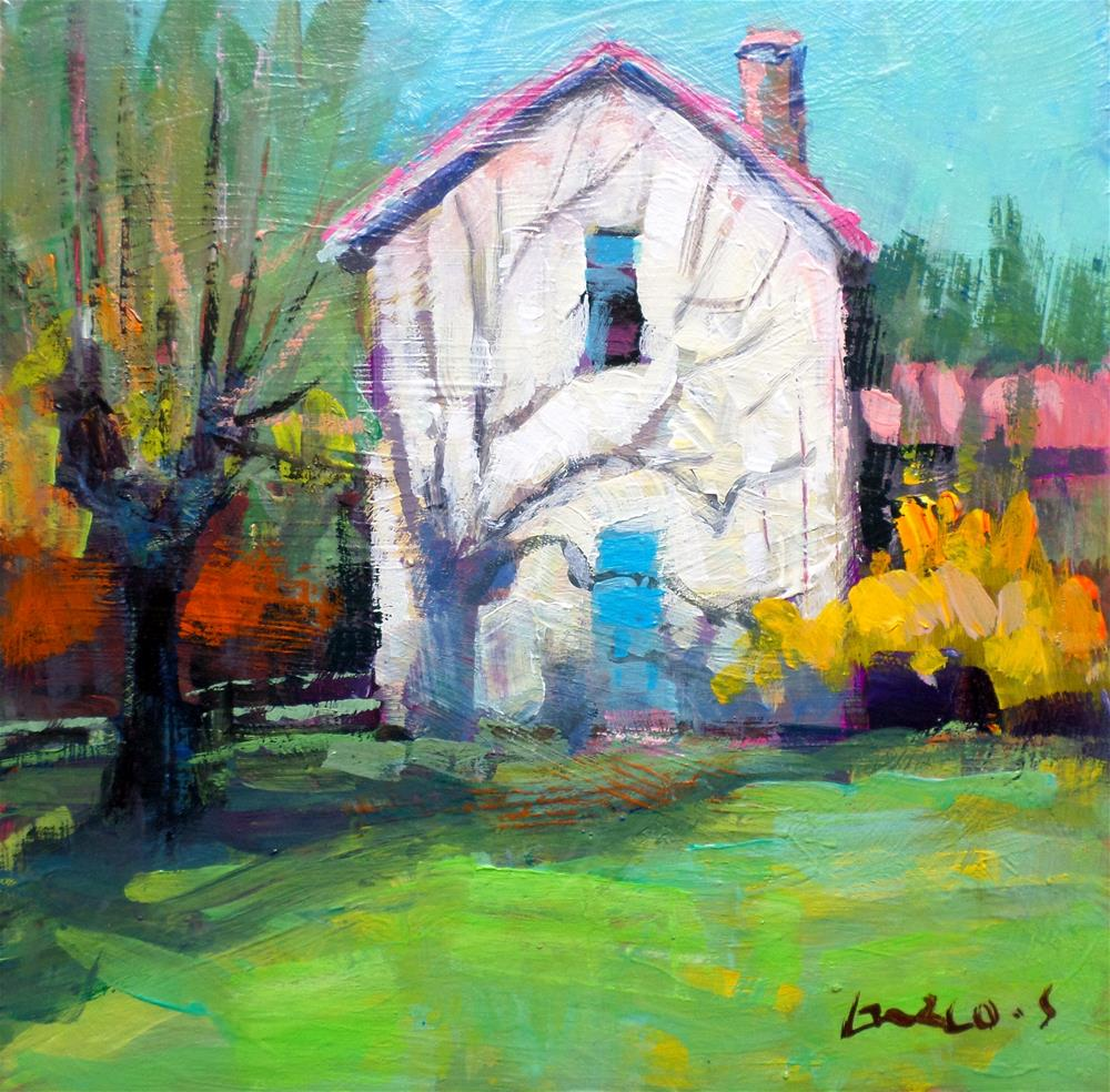 """Light on the house"" original fine art by salvatore greco"