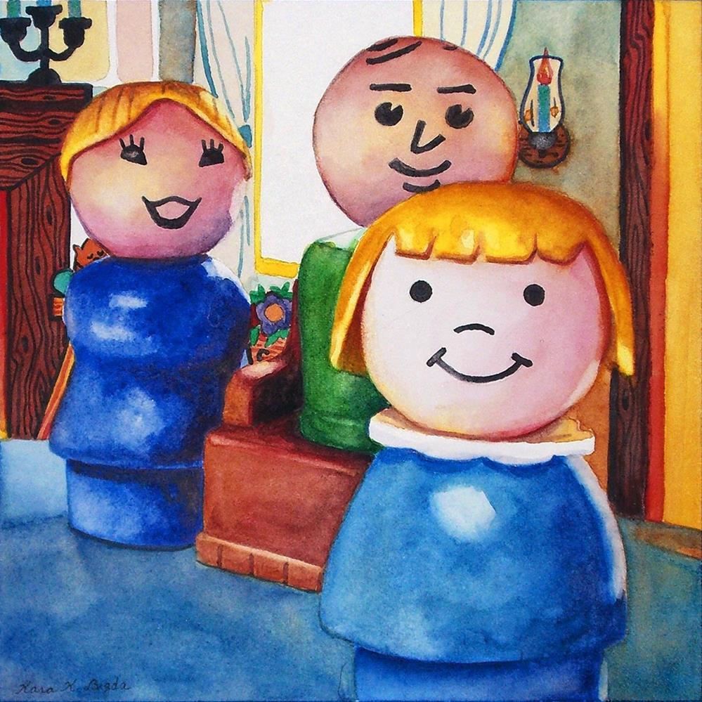 """The Family"" original fine art by Kara K. Bigda"