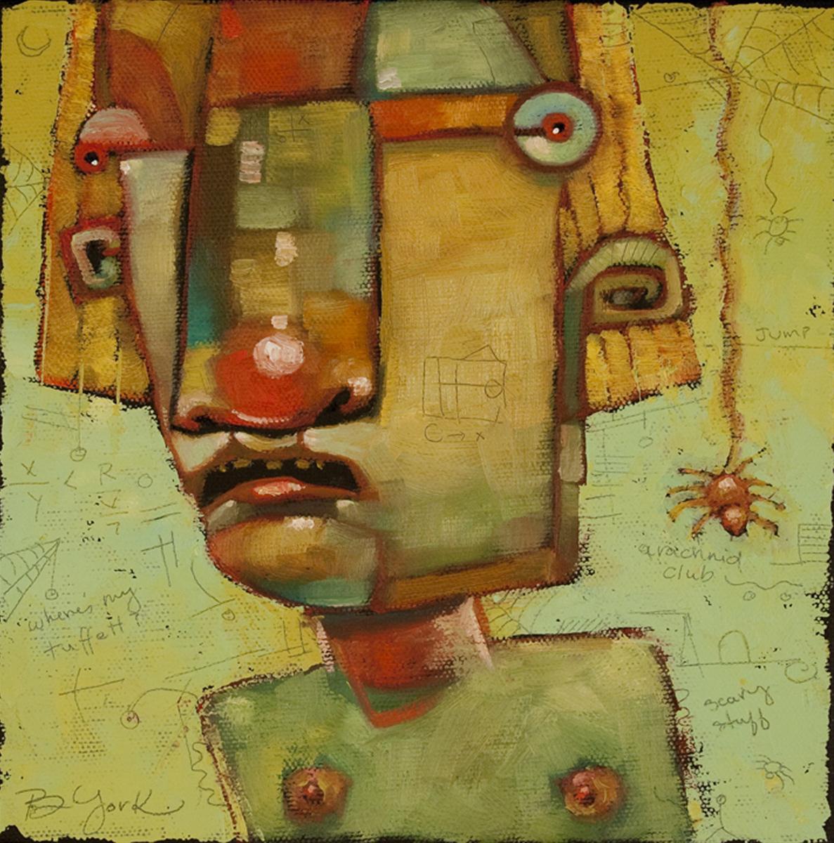 """L. M. Muffett"" original fine art by Brenda York"