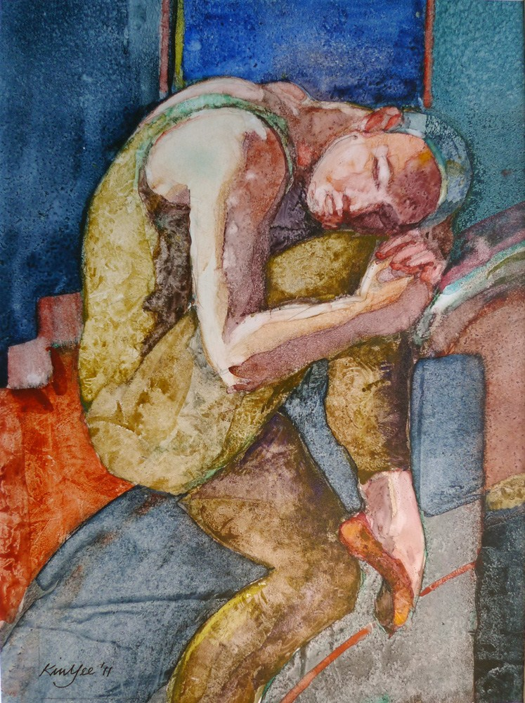 """'Eusebius'"" original fine art by Myriam Kin-Yee"