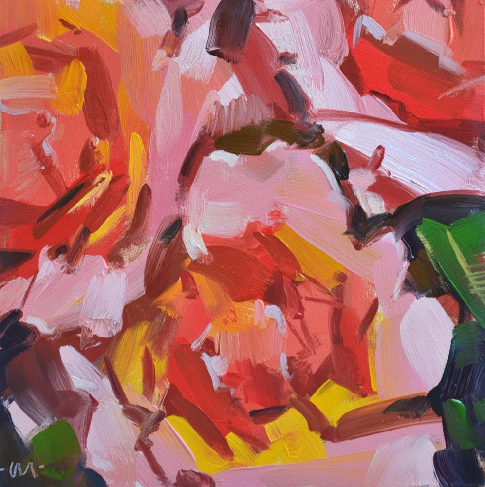 """""""Fear of Crowds"""" original fine art by Carol Marine"""
