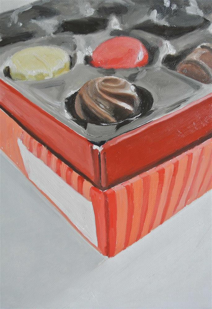 """Chocolate Box"" original fine art by James Coates"
