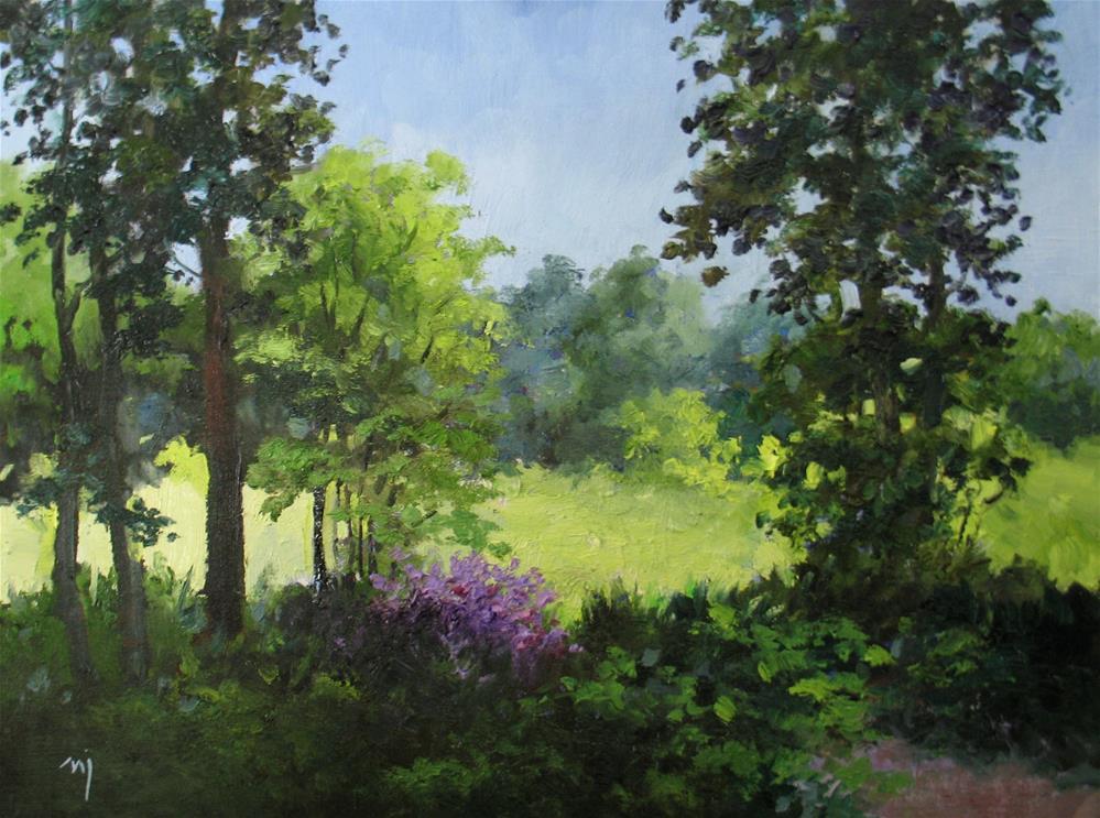 """The Overlook"" original fine art by Nel Jansen"