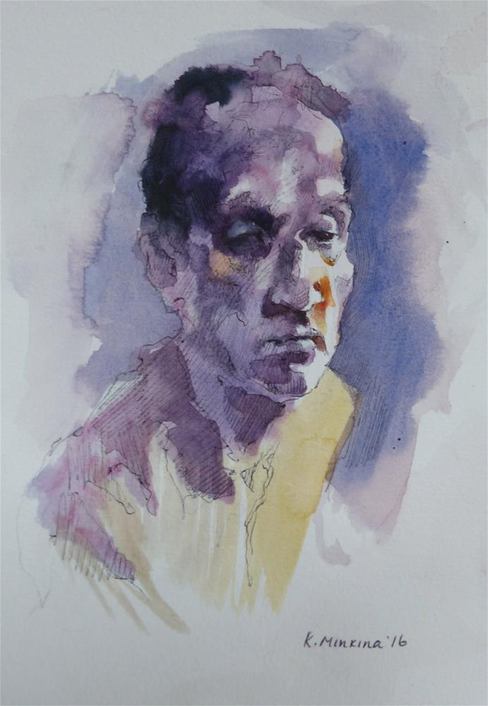 """sketchbook#35"" original fine art by Katya Minkina"