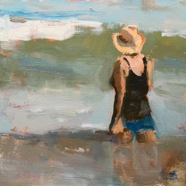 """""""Thigh High"""" original fine art by Randall Cogburn"""