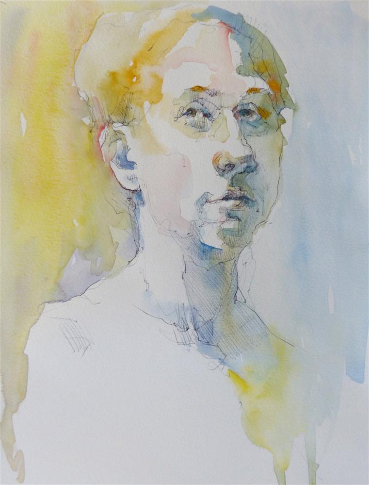 """sketchbook28"" original fine art by Katya Minkina"