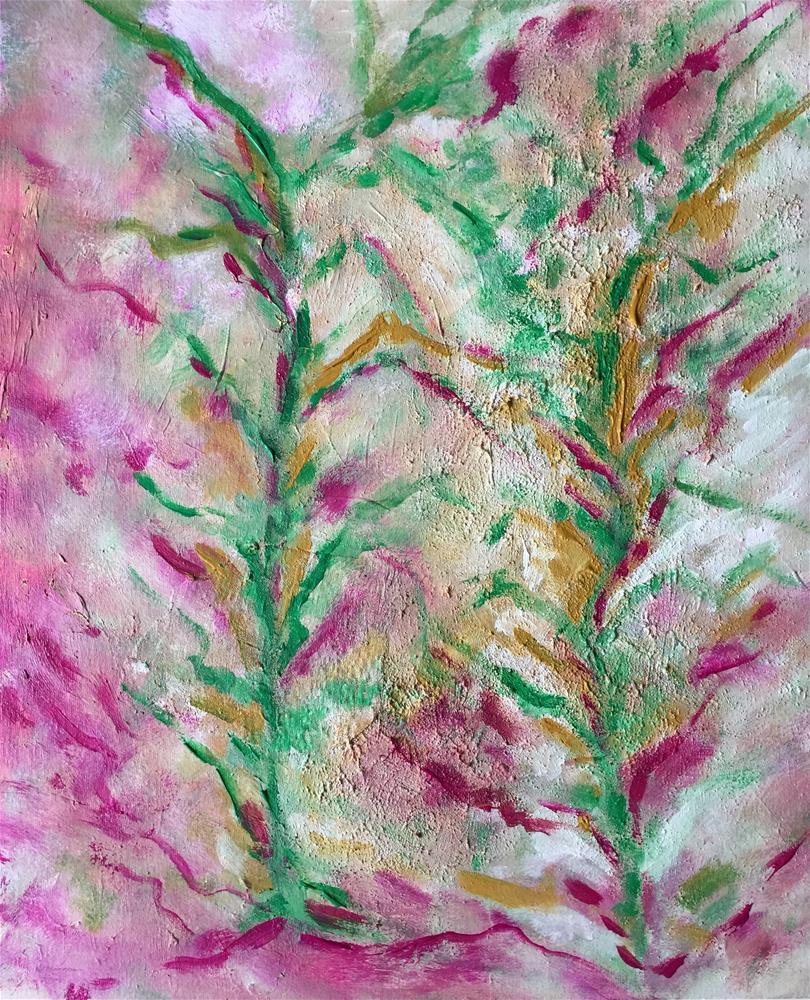 """Spring"" original fine art by Monica Pinotti"