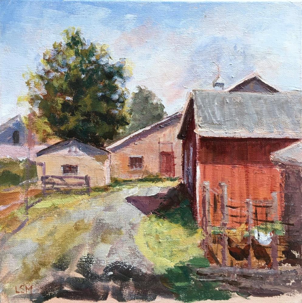 """Madison Farm"" original fine art by Linda Marino"