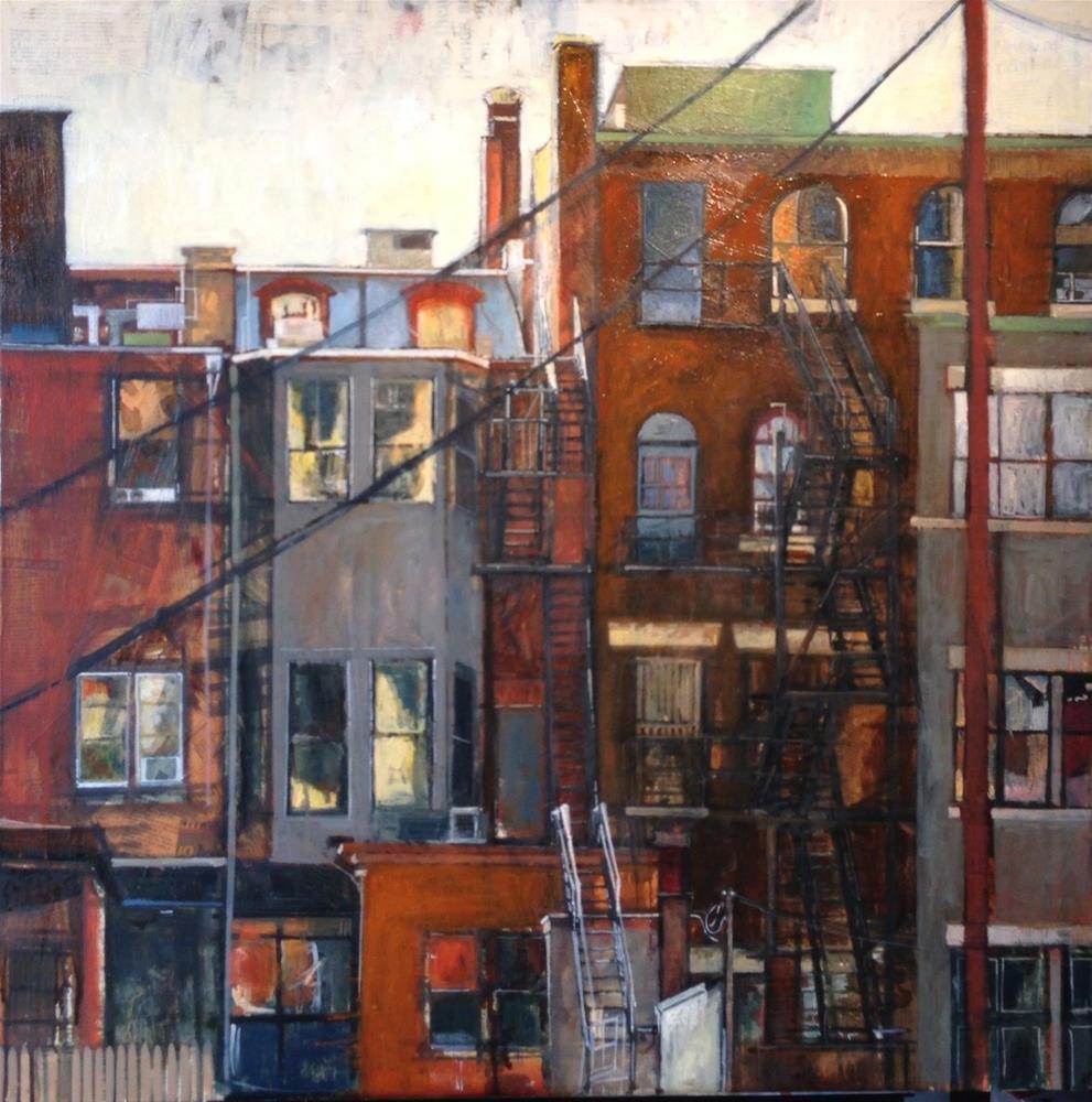 """Urban Escape"" original fine art by Teresa Haag"