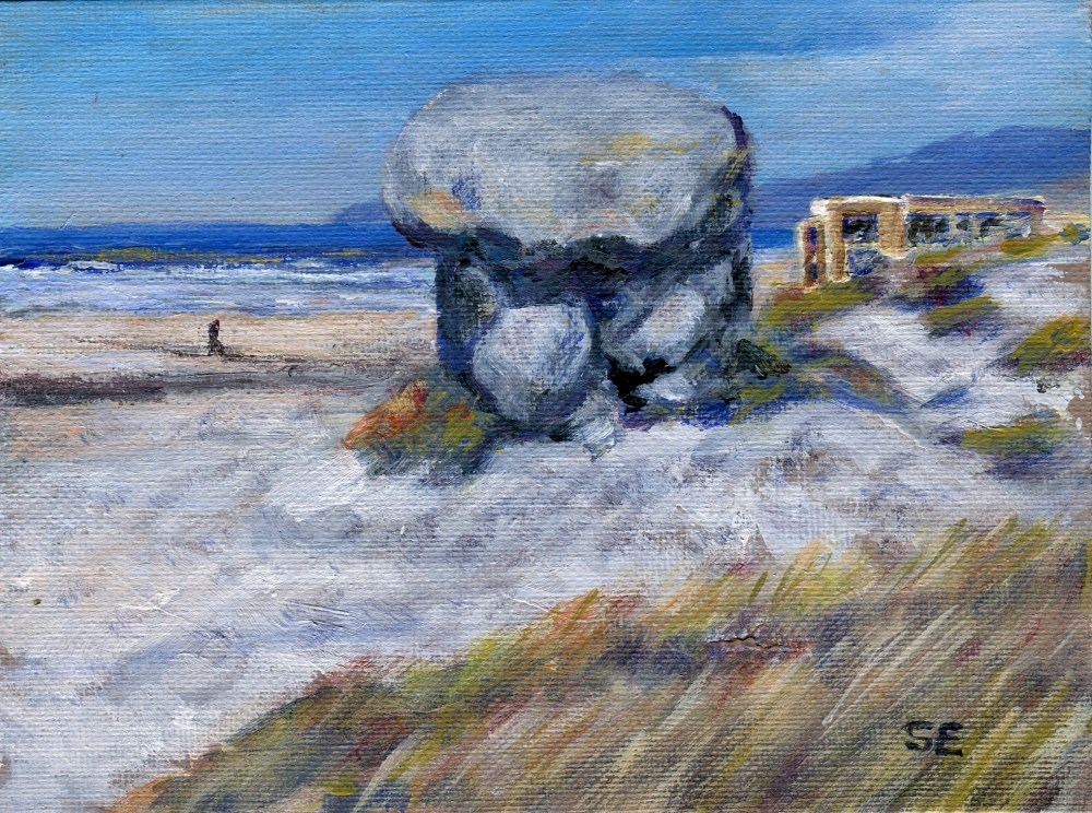"""Stanhenge"" original fine art by Stanley Epperson"