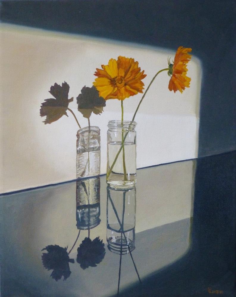 """""""Duet at First Light"""" original fine art by Peter Lentini"""
