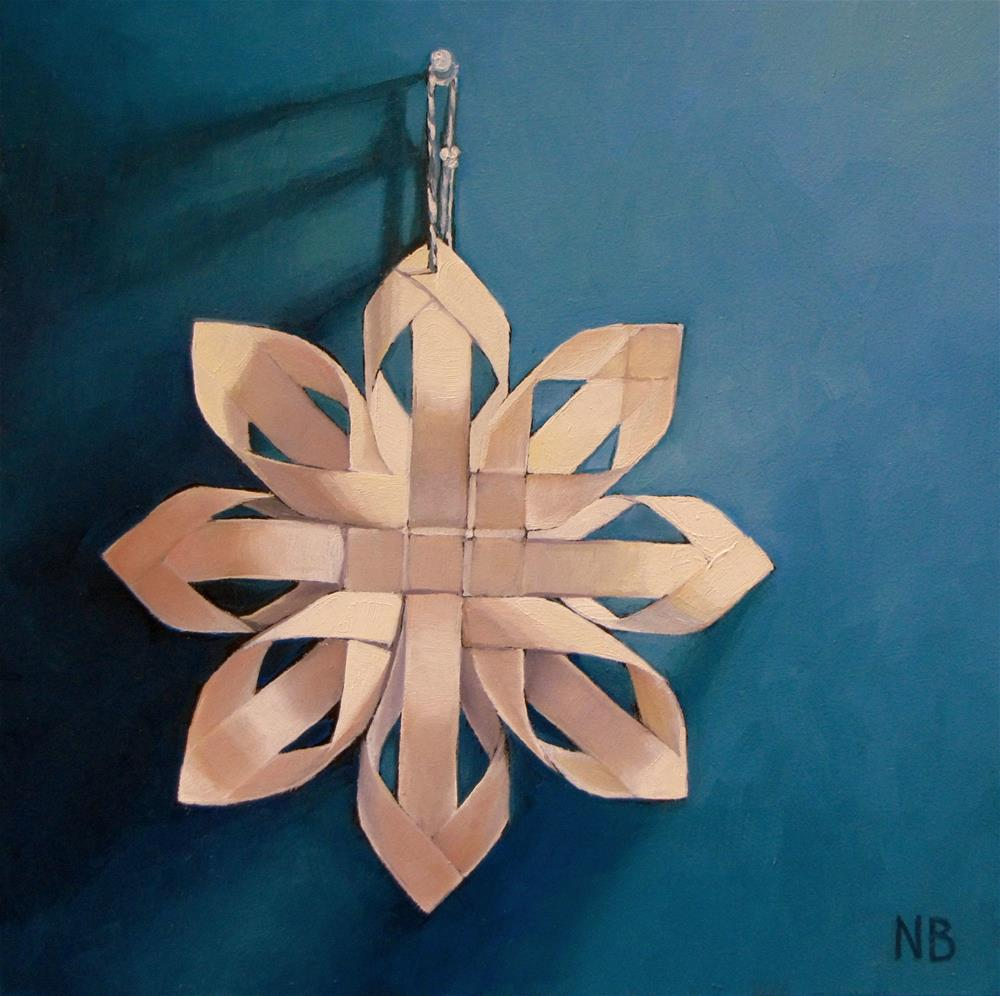 """Star of Night"" original fine art by Nora Bergman"