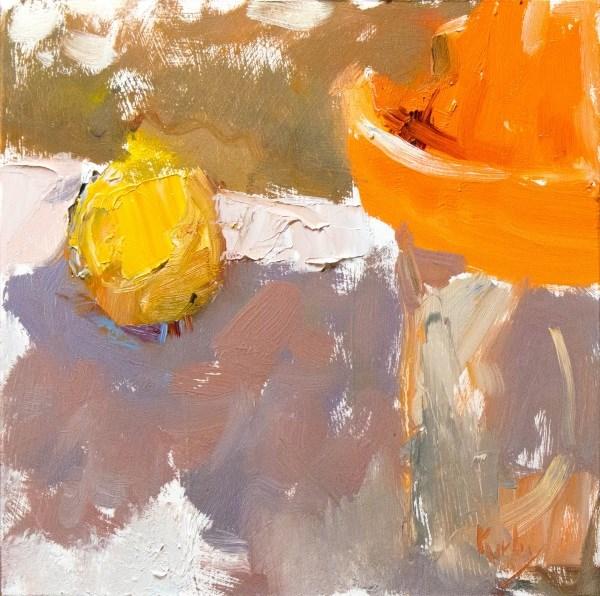 """Shade and Lemon"" original fine art by Randall Cogburn"