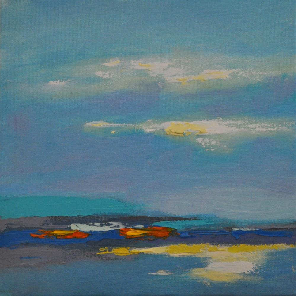 """Landscape 159"" original fine art by Ewa Kunicka"