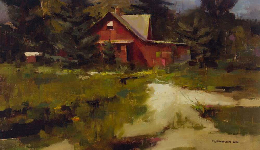 """""""Heiðmörk"""" original fine art by Thorgrimur Andri Einarsson"""