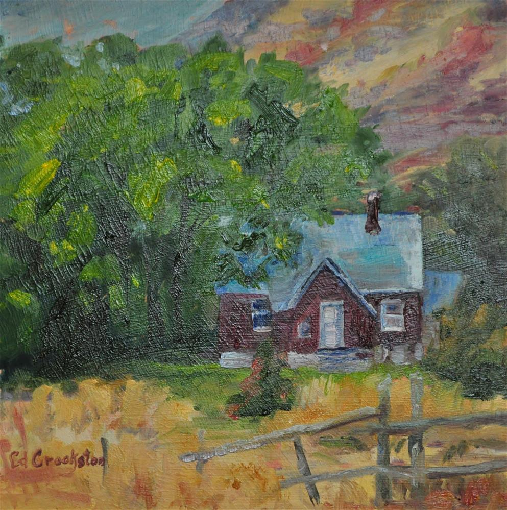 """Favorite Neighbor"" original fine art by Catherine Crookston"