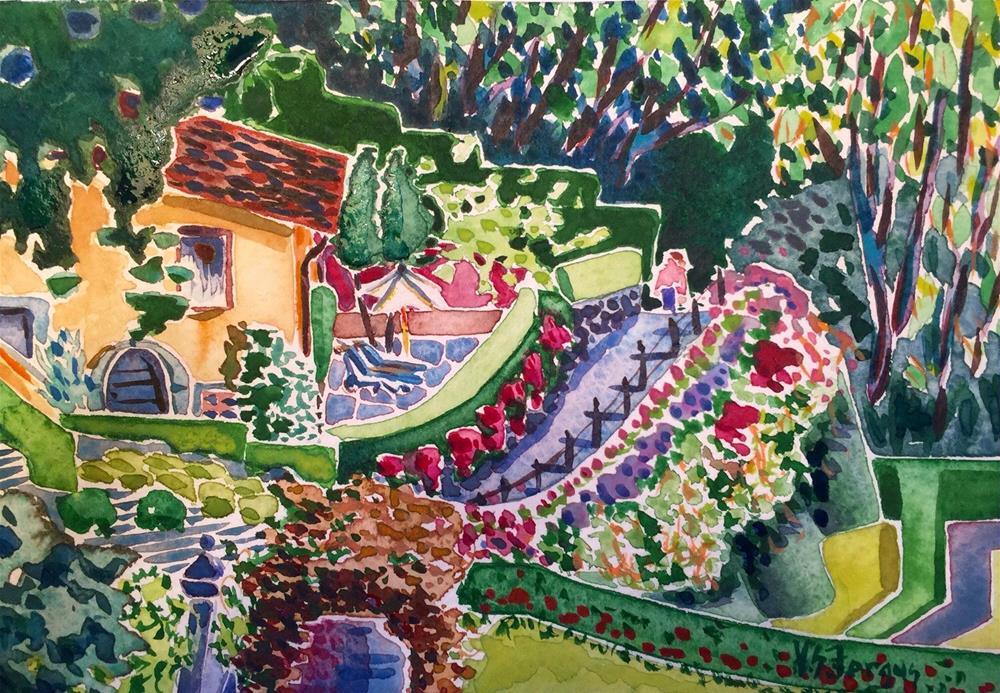 """Hideaway"" original fine art by Virginia Fergus"